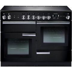 Rangemaster Professional, PROP110ECGB/C, 110cm, All Electric, Range Cooker, Black