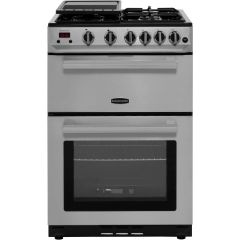 Rangemaster Professional Plus PROP60NGFSS/C, 60cm, Gas Cooker W/Variable Gas Grill, Stainless Steel