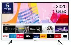 "Samsung QE50Q60TAUXXU, 50"", Q60T, 4K Quantum HDR, Smart QLED TV"