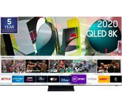 """Samsung QE65Q800TATXXU, 65"""", Smart 8KG HDR QLED TV"""