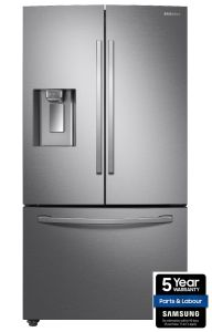 Samsung RF23R62E3SR, 416/123L, American Fridge Freezer, Stainless Steel