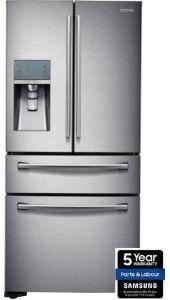 Samsung RF24FSEDBSR, 4 Door, American Fridge Freezer