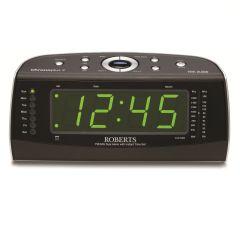 Roberts CHRONOPLUS2, Black, Clock Radio