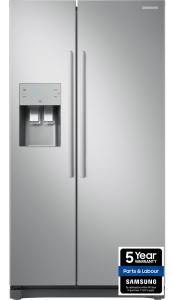 Samsung RS50N3513SA, American Style Fridge Freezer, Graphite