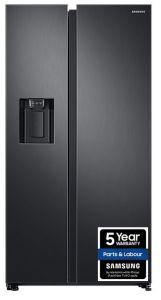 Samsung RS68N8230B1, 2 Door, Side by Side, American Fridge Freezer, Black