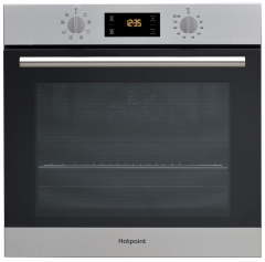 Hotpoint SA2540HIX, Electric, Built-in Single Oven, Stainless Steel