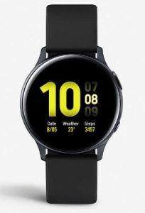 Samsung SMR820NZKABTU, Galaxy Active 2 Watch, 44MM, Black