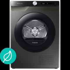 Samsung DV80T5220AX, Heat Pump Tumble Dryer, Inox