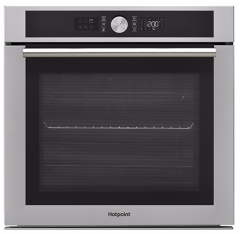 Hotpoint SI4854PIX, Pyrolytic, Built-in Single Oven, Stainless Steel