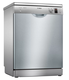 Bosch SMS25AI00G, 60cm, 12 Place, Freestanding, Dishwasher, Silver