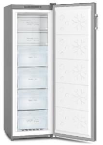 Powerpoint P125517FFINOX, 174 x 55cm, Frost Free Freezer, Inox