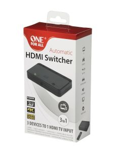 One For All SV1630,  3 X HDMI Switcher