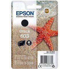 Epson 603 T03U14010, Original 150 Page Ink Cartridge, Black