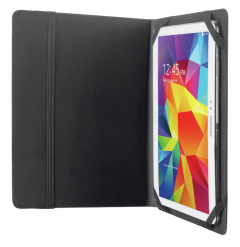 "Trust T20058, Primo Black Folio Case with Stand for 10"", Black"