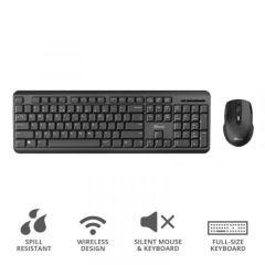 Trust T24153, Silent Wireless Keyboard & Mouse Set