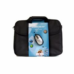 Techair TABX406R, 15.6 Inch Bag and Mouse