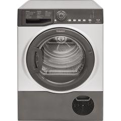 Hotpoint, TCFS83BGG9, 8KG, Condenser Dryer, Graphite