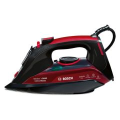 Bosch TDA5070GB, Sensixx'x DA50 EditionRosso, 3050W, 300ml Storage, 3AntiCalc, Steam Iron, Black/Red