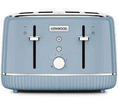 Kenwood TFP10AOBG, Elegancy 4-Slice Toaster, Blue