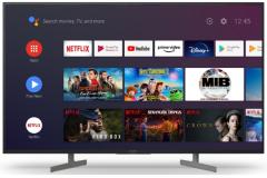 "Sony BRAVIA KD65XG81, 65"", LED 4K HDR UHD Smart TV - Black"