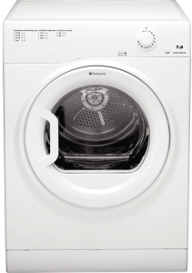 Hotpoint TVM70BGP, 7KG,  Vented Dryer, White