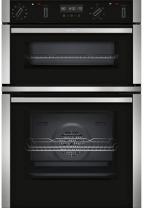 Neff U2ACM7HN0B, Built-In Electric Double Oven, S/S