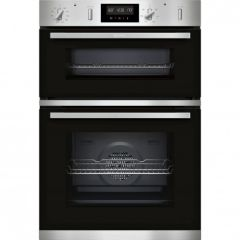 Neff U2GCH7AN0B, N50 Built-In Electric Double Oven, Stainless Steel