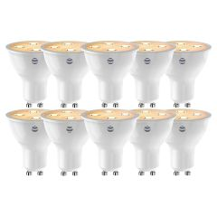 Hive UK7001584HEAT, GU10 Dimmable LED 10 Pack