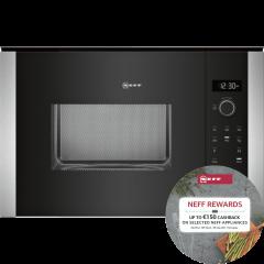 Neff HLAWD53N0B Built-In Microwave - Black W/Silver