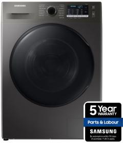 Samsung WD80TA046BX, 8KG, Ecobubble Washer Dryer, Black