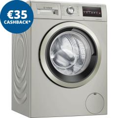 Bosch WAN282X1GB, Serie 4, 8KG, 1400rpm, Washing Machine, Inox