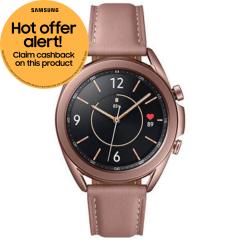 Samsung Galaxy SMR850NZDAEUA, Watch3, 45mm, GPS Smart Watch, Bronze