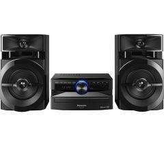 Panasonic SCUX100EK, Bluetooth Megasound Party, Hi-Fi System, Black