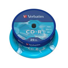 Verbatim 43432, 25 Pack, CD-R Spindle