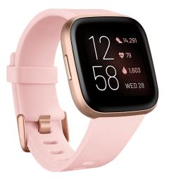 Fitbit 79FB507RGPK, Versa 2, SmartWatch with NFC, Petal/Copper R