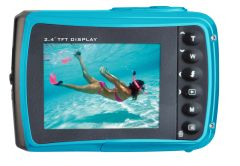 Go Extreme 10012, Splash, 16MP, Underwater Camera, Blue