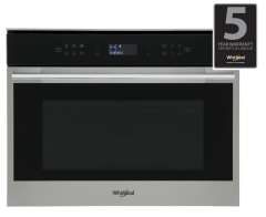 Whirlpool, W Collection, W7MW461UK, Built In Microwave, Stainless Steel