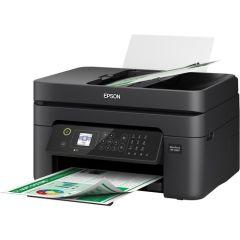 Epson WF2830, WorkForce All-in-One Wireless Printer, Black