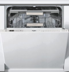 Whirlpool WIO3033PLESUK, 60cm, 14 Place, Integrated Dishwasher, Stainless Steel