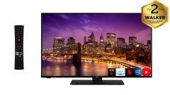 """Walker WP43U20P, 43"""", 4K, Smart HDR LED TV, Black"""