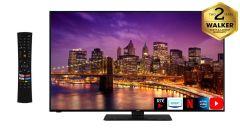 """Walker WP55U20P, 55"""", 4K, Smart LED TV, Black"""