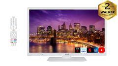 """WALKER WPS2421WH 24"""" SMART HD READY WHITE TV"""