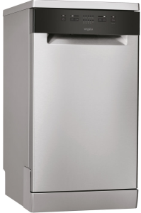 Whirlpool, WSFE2B19XUK, 45cm Dishwasher, Stainless Steel
