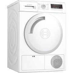 Bosch WTN83201GB , Serie 4, 8KG, Condenser Tumble Dryer, White