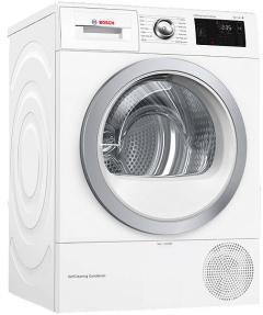 Bosch WTWH7660GB, 9kg, A++, Condenser Tumble Dryer, White