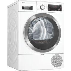 Bosch WTX88RH9GB, 9KG, Series 8, Wifi-Connected, Heat Pump Tumble Dryer, White