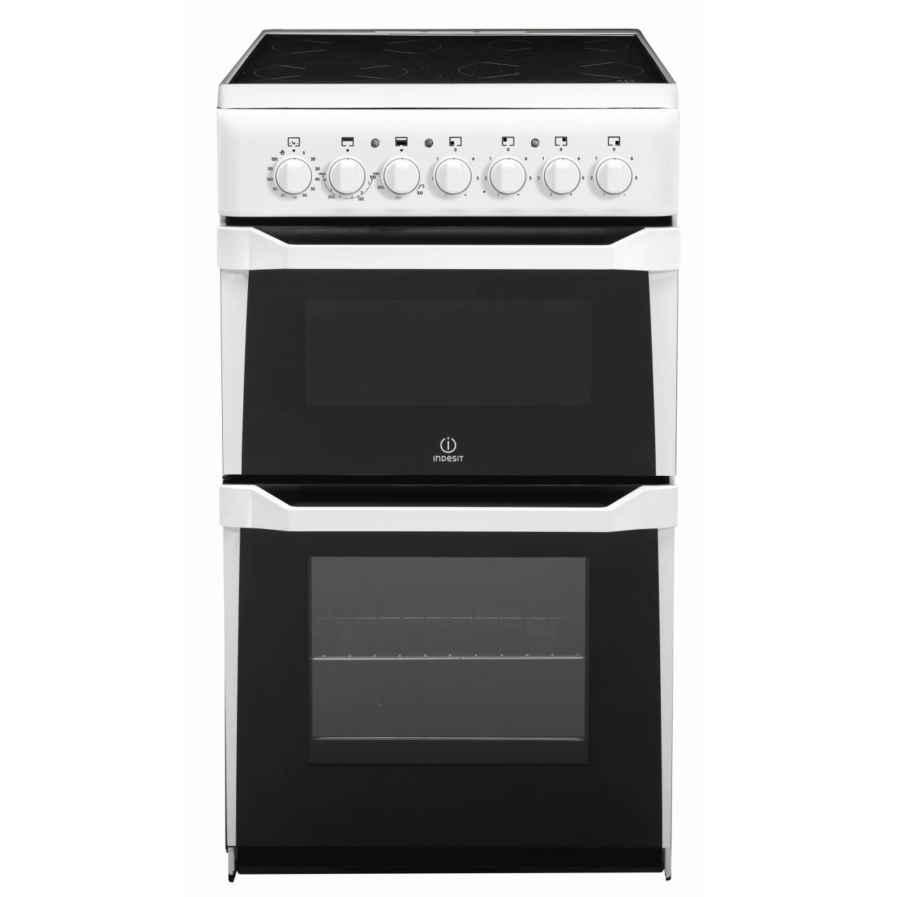 Buy Indesit IT50CWS White 50cm Freestanding Electric Cooker ...