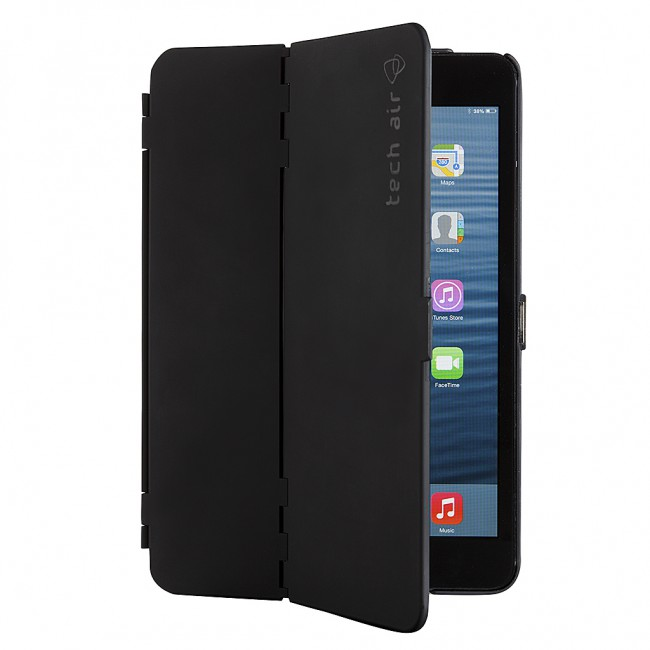 buy popular 29870 c8685 Techair TAXIP030, Apple Air 2 Folio Hardshell Case, Black