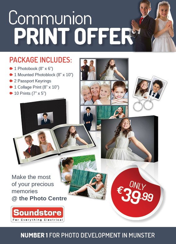 Communion PhotoCentre Print Offer
