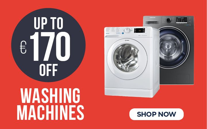 Up to €170 OFF Washing Machines